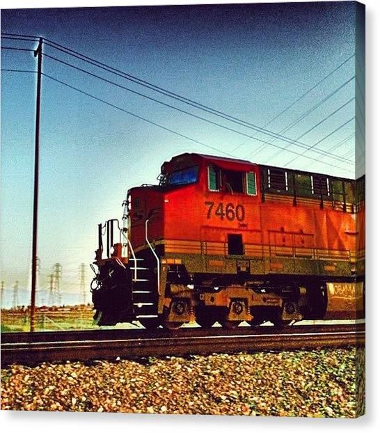 Locomotive Canvas Print - Rail Fury ~ Corron Xtrillion #xtrillion by Glen Campbell