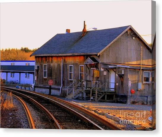 Railway  House Canvas Print