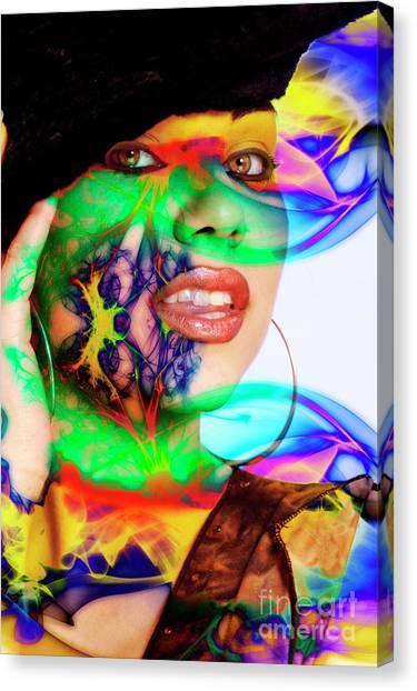 Rainbow Beauty Canvas Print