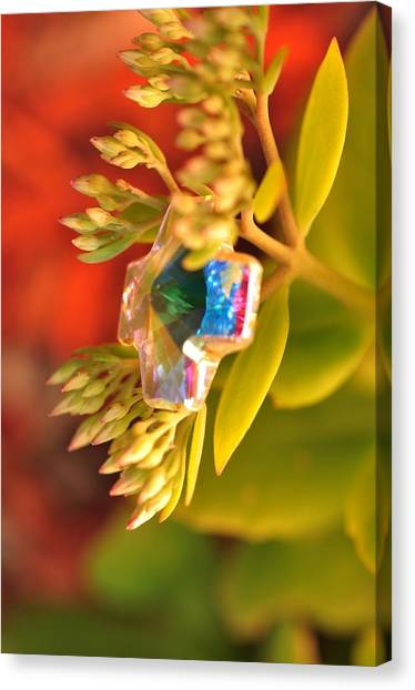 Rainbow Crystal  Canvas Print