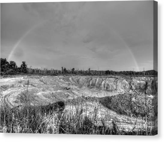 Rainbow Pit Canvas Print