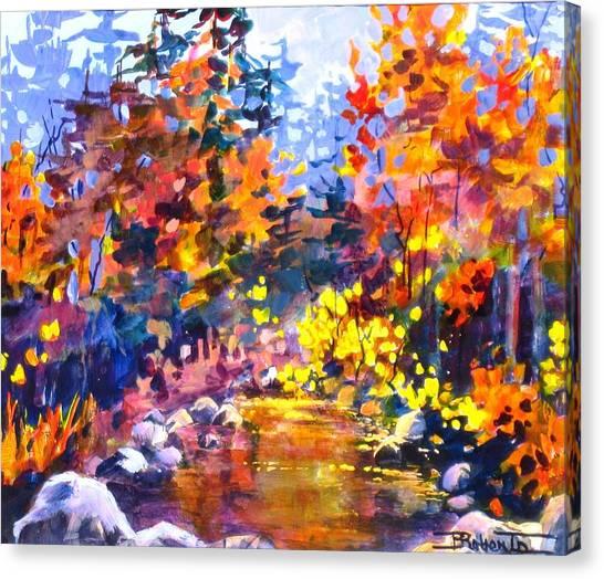 Rainbow River Canvas Print