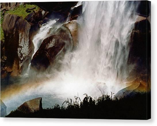 Rainbow Under Vernal Falls 2 Canvas Print