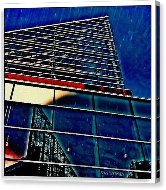 Edit Canvas Print - Rains Reflection by Mari Posa