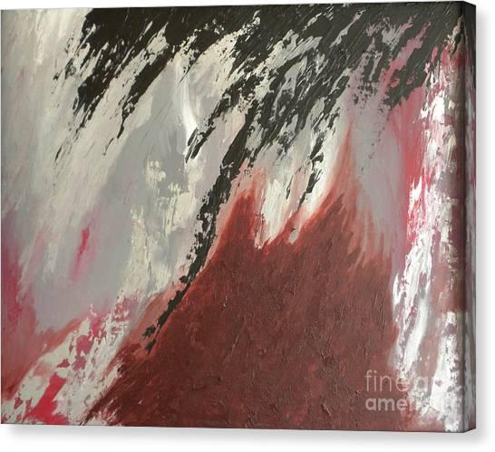 Canvas Print - Rainstorm by Silvie Kendall