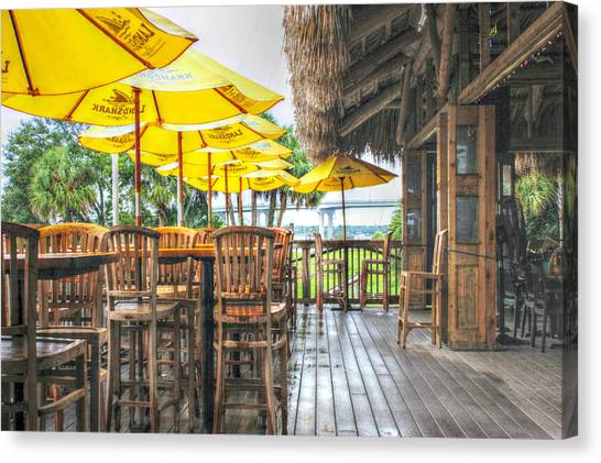 Rainy Afternoon At The Oar House Canvas Print