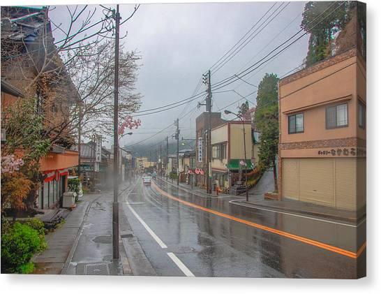 Rainy Day Nikko Canvas Print