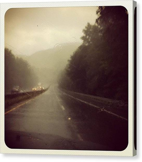 Knights Canvas Print - Rainy Days Are The Best Time To Take A by Chels Knight