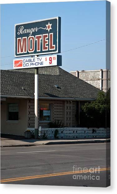 Ranger Motel Canvas Print