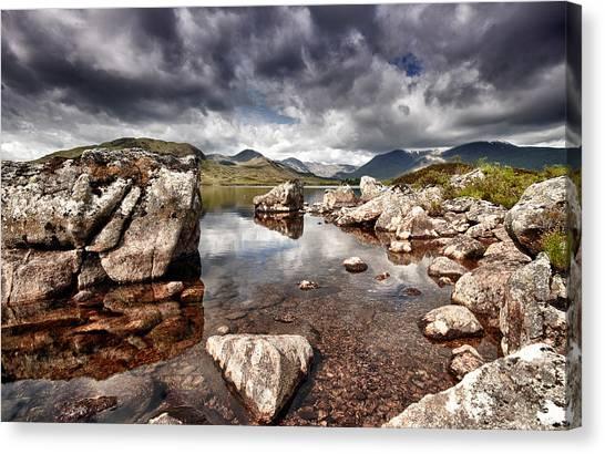 Rannoch Moor  Scotland Canvas Print