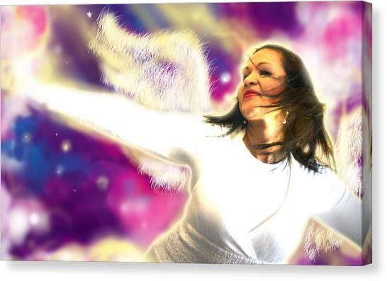 Ravert.angelic 3 Canvas Print