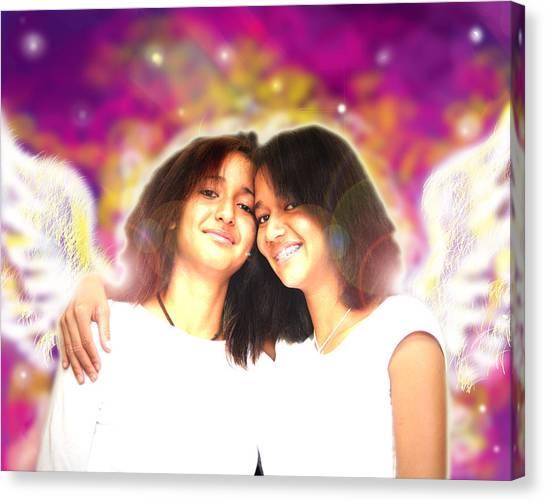 Ravert.angelic 5 Canvas Print