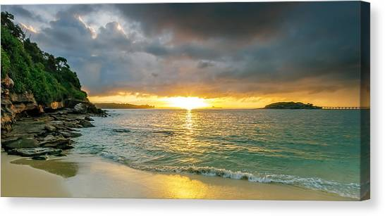Rays Of Congwong Bay Canvas Print