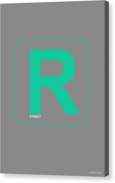 Harvard University Canvas Print - Re Tweet Poster by Naxart Studio