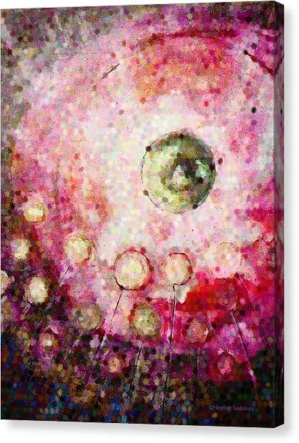 Reaching Canvas Print by Heather Saulsbury