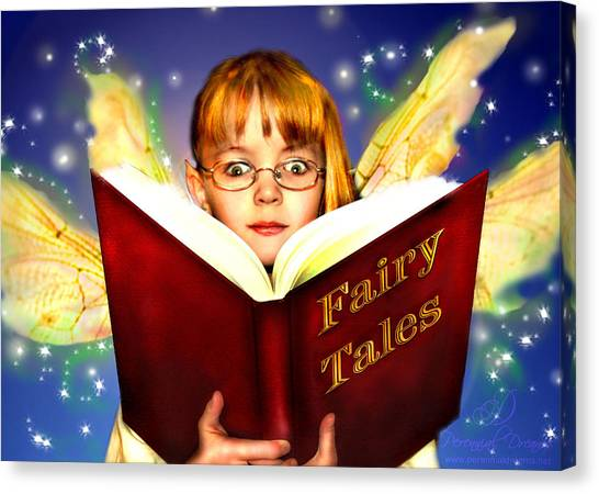 Read More Fairy Tales Canvas Print