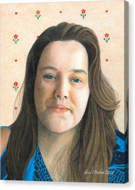 Rebecca - Puso Coracao Canvas Print