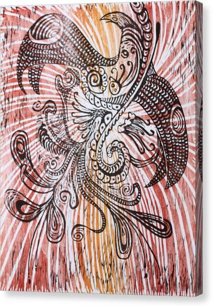Rebirth 2 Canvas Print