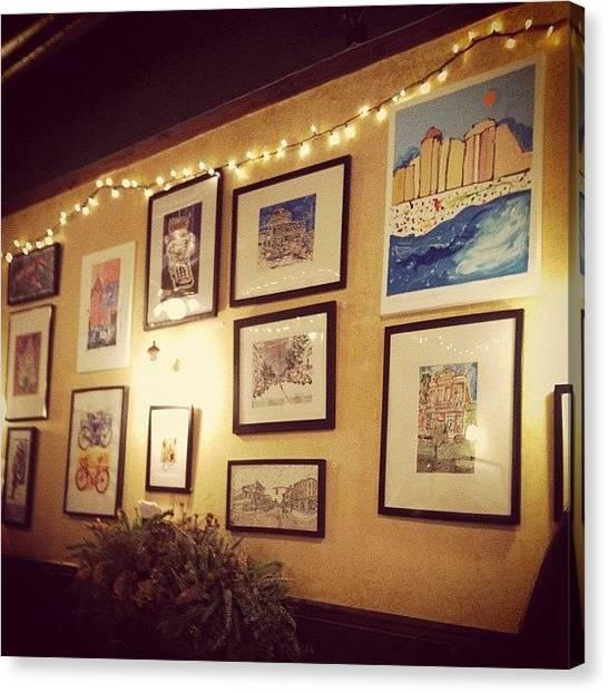 Jerseys Canvas Print - Red Bank by Kristenelle Coronado