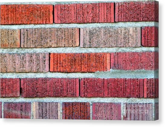 Red Brick Wall Canvas Print