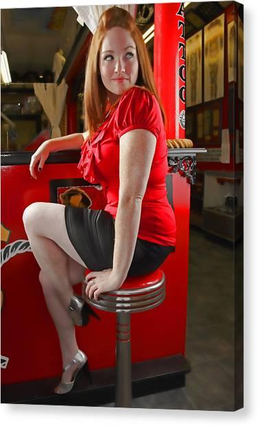 Redheads Canvas Print - Red by Rick Berk