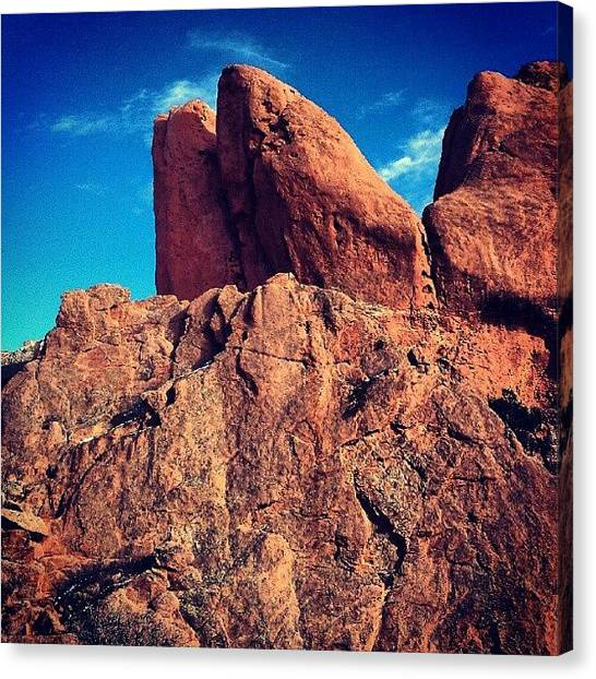 Red Rock Canvas Print - Red Rock by Scott Freeman