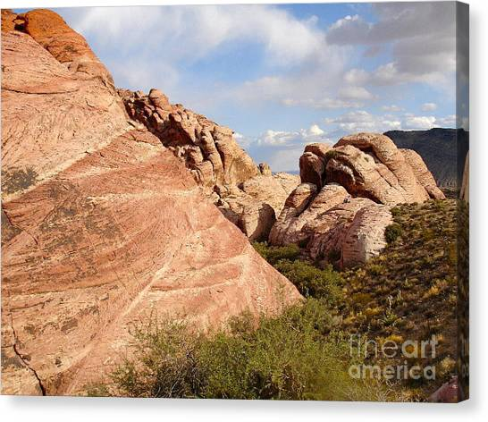 Canvas Print - Red Rock by Silvie Kendall