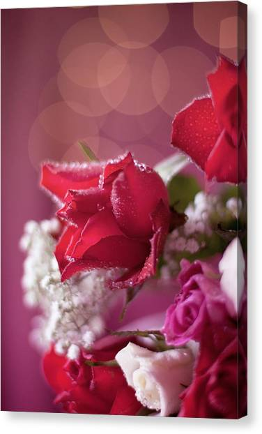 Red Rose Bouquet Bokeh Still Life Photograph By Ethiriel Photography