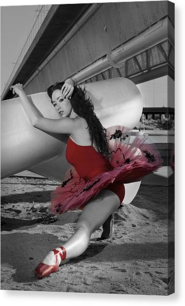 Red Tutu Canvas Print