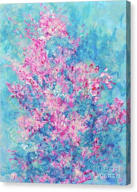 Redbud Special Canvas Print