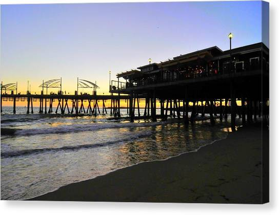 Redondo Pier South Canvas Print