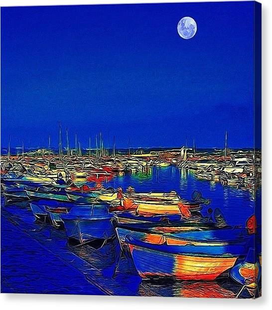 Marinas Canvas Print - #reedit #editedtodeath by Nicola ام ابراهيم