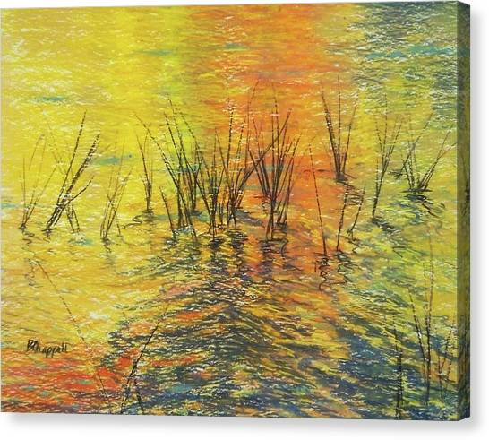 Reeds I Canvas Print