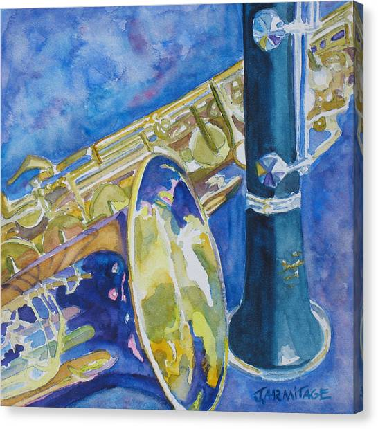 Clarinets Canvas Print - Reeds Between Sets by Jenny Armitage