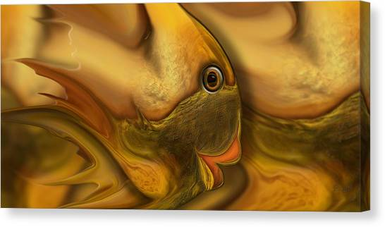 Reef Mistress Redux Canvas Print