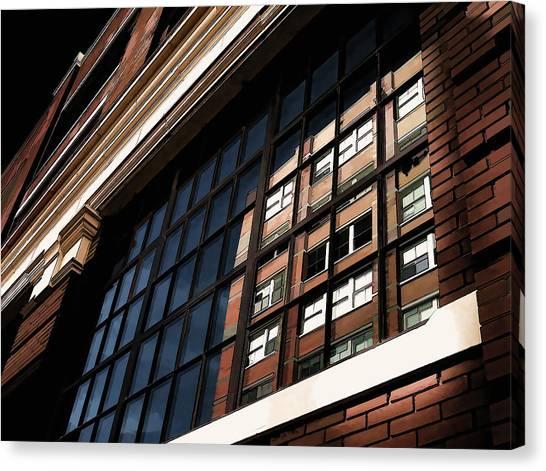 Bricks Canvas Print - Reflection 1409 by Douglas Pittman