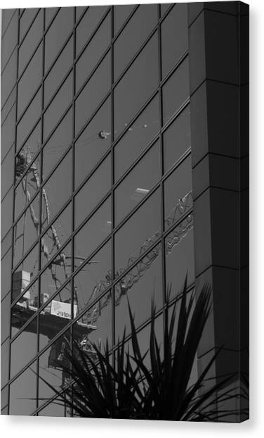 Reflection Enarc Canvas Print by Kevin Bates