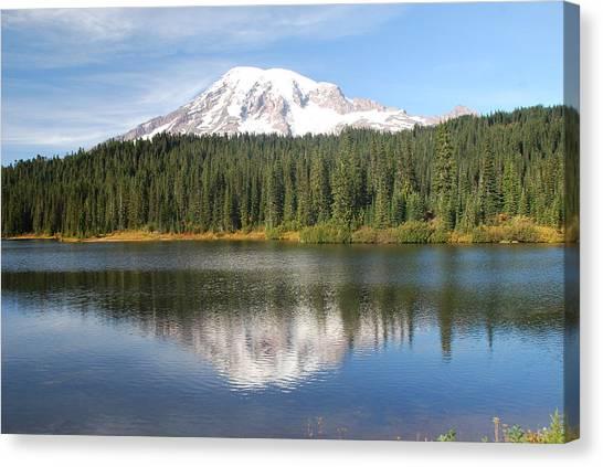 Reflection Lake - Mt. Rainier Canvas Print