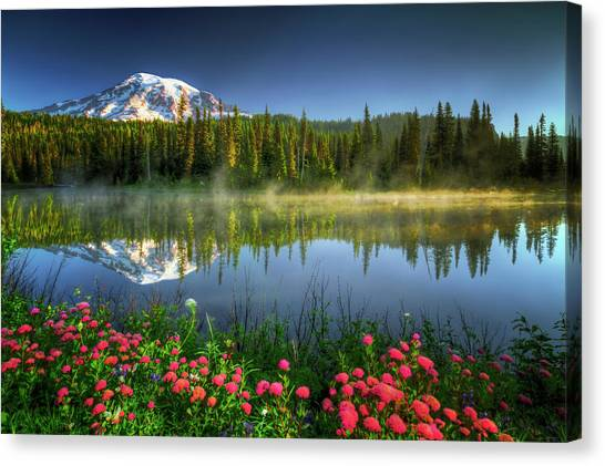 Reflection Lakes Canvas Print