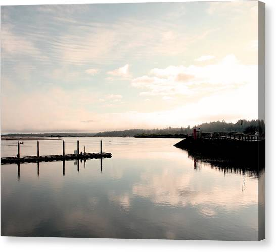 Reflection Canvas Print by Shandel  Gauthier