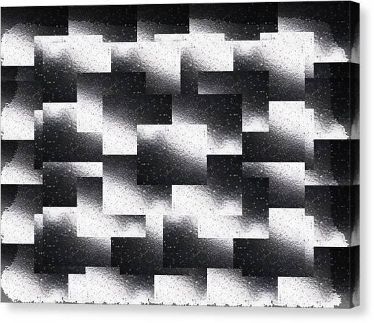 Rain Canvas Print - Reflections Of A Rain Shower by Tim Allen