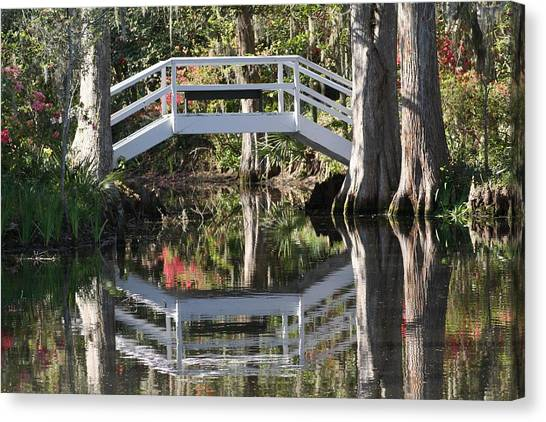 Reflection's Of Spring Canvas Print