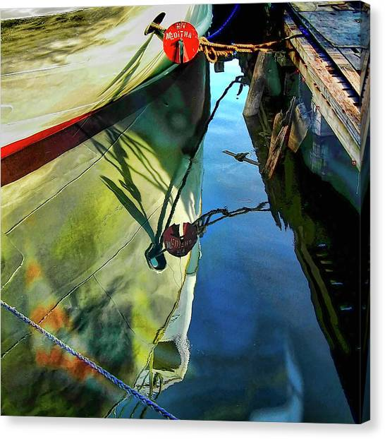 Reflections On Water Canvas Print