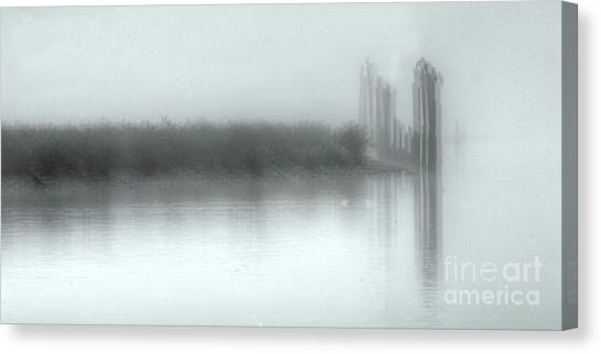 Reflections Through The Fog Canvas Print
