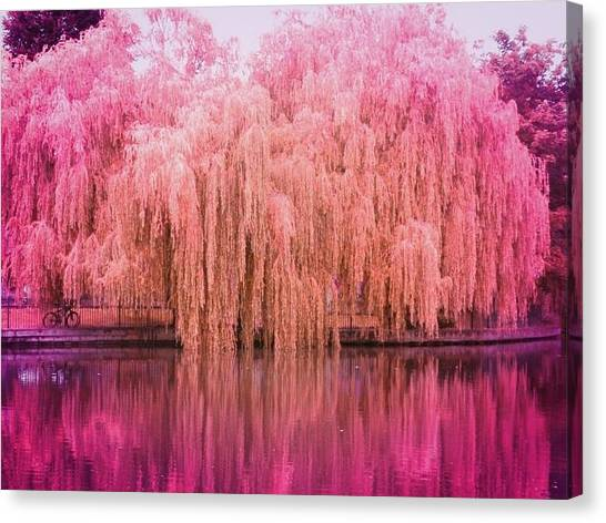 Regeant's Canal Canvas Print by Andreia Gomes