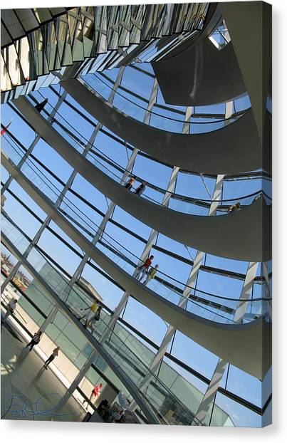 Reichstag Dome Canvas Print