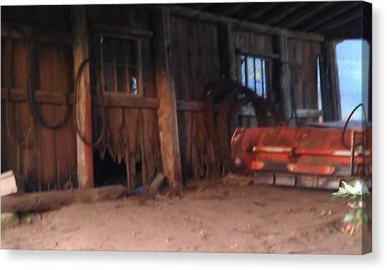 University Of Wisconsin - Madison Canvas Print - Reifsteck Farm 5 by Robert Foss
