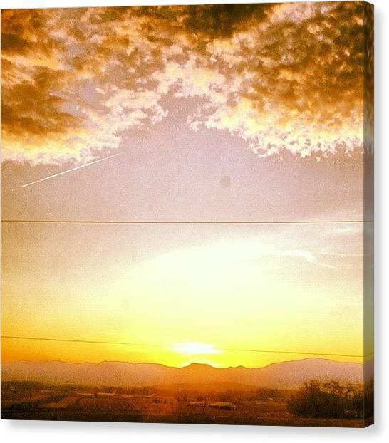 Solar Farms Canvas Print - Reign by Sam Harris
