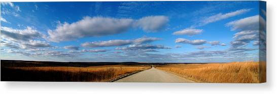 Relaxing Drive Canvas Print