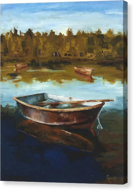 Relaxing Canvas Print by Jose Romero